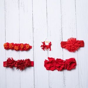 Other - Red Hair Accessory Bundle